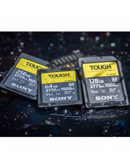 SONY TOUGH 64 GB 277MB/S UHS-II V60 IP68 (SF-M64T)