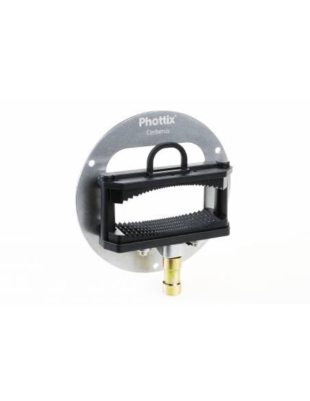 PHOTTIX Softbox 40x40 con rótula flash Cerberus. PX82522 universal