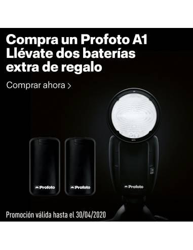 PROFOTO  A1+ 2 uds. Batería extra GRATIS (total 3uds.)! (Canon TTL 901201)