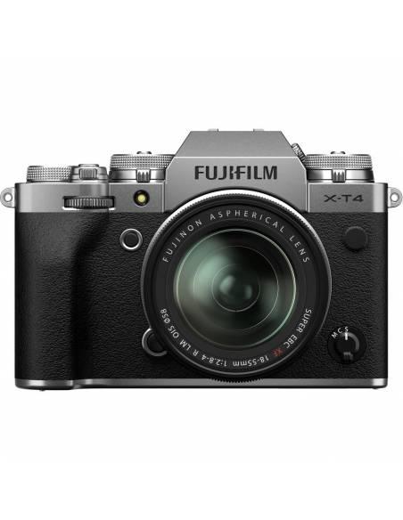 FUJIFILM X-T4 + XF18-55mm F2.8-4 Silver (Reserva de producto)