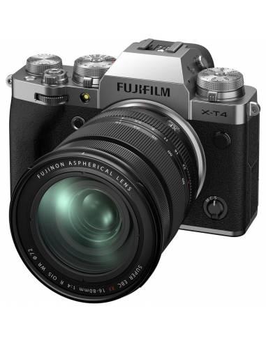 FUJIFILM X-T4 + XF16-80mm F4 Silver (Reserva de producto)