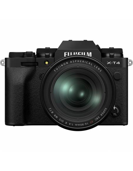 FUJIFILM X-T4 + XF16-80mm F4 Black (Reserva de producto)