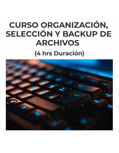 Curso Organización, selección y Backup de archivos fotográficos   25 de MARZO   16.30