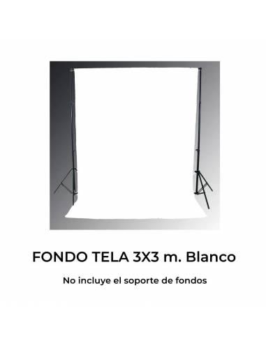 FOTIMA FONDO TELA BLANCO   3X3 m.