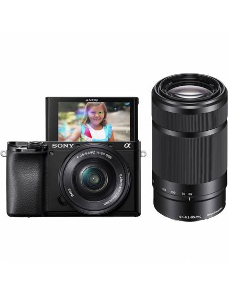 SONY A6100 + 16-50mm + 55-210mm ILCE6100YB + GRATIS SD TOUGH 64GB 277MB/S*