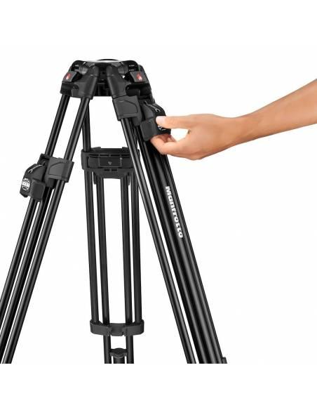 Kit video c/tríp.alu Fast 645+rót.Nitrotech 608. Estab. central (MVK608TWINFA)