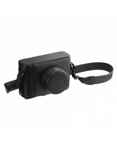 Fujifilm LC-XT100 Leather Case Black