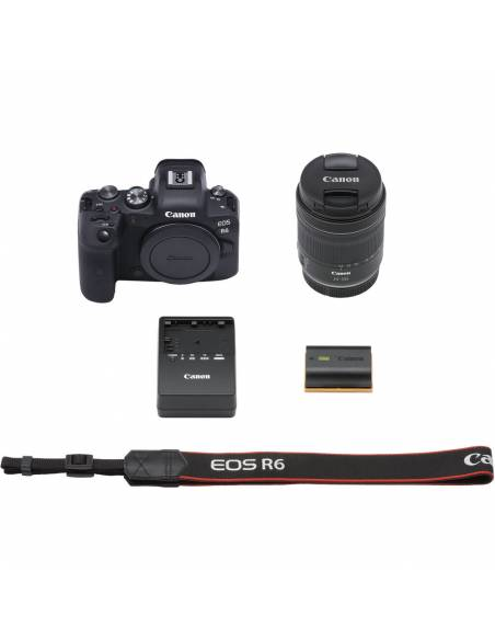 Canon  EOS R6 + RF 24-105mm F4-7.1 IS STM **Reserva de producto**