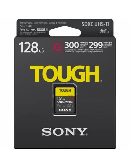 SONY TOUGH  128GB 300MB/S UHS-II V90 IP68 (SF-G128T)
