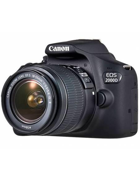 CANON EOS 2000Dx + 18-55mm IS II + funda Canon + tarjeta SD 2728C013