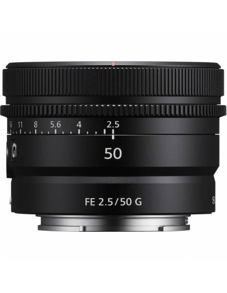 SONY 50mm F2.5 G FE (SEL50F25G)  **Reserva de producto**