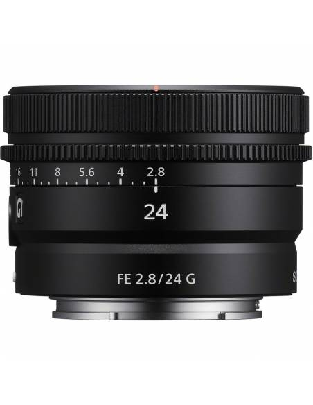 SONY 24mm F2.8 G FE (SEL24F28G)  **Reserva de producto**