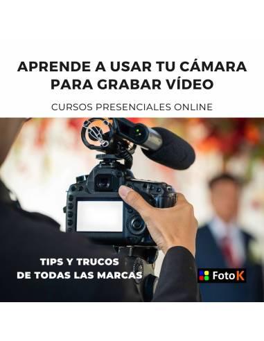 Aprende a usar tu Cámara para grabar vídeo | clases personalizadas