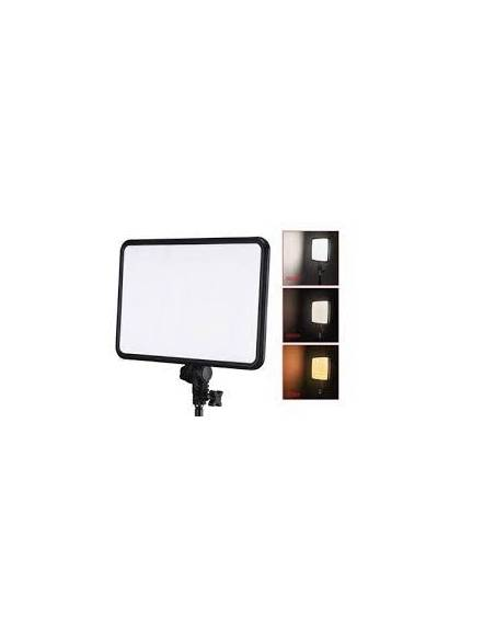 FOTIMA Panel LED BiColor KIT 2 uds. FTL-36B + 4 Bat. + 2 pies + Bolsa + Control Remoto