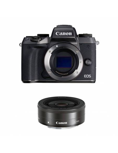 CANON EOS M5 BODY + 22mm f/2 KIT