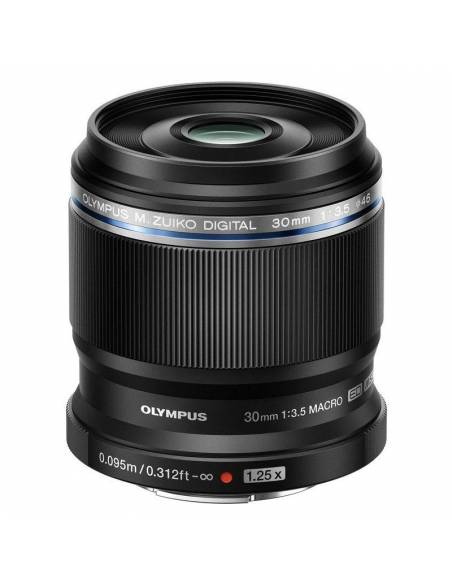 OLYMPUS 30mm F3.5 Macro M.Zuiko Digital ED negro