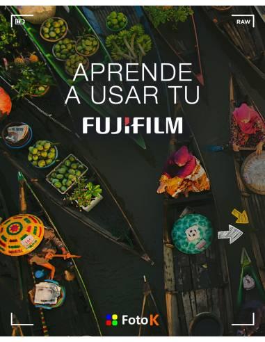 Aprende a usar tu nueva FUJIFILM X | On Line | Escoge tu fecha
