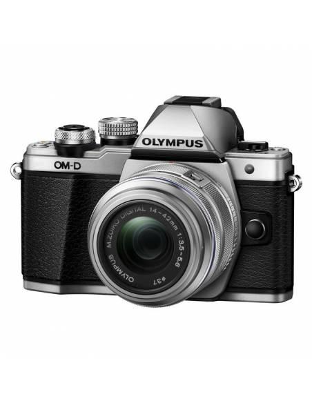 OLYMPUS OM-D E-M10 Mark II +14-42 EZ + 40-150mm (body Silver)
