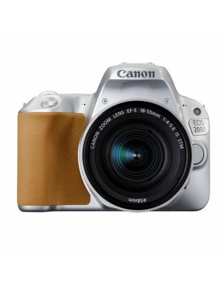CANON EOS 200D + 18-55mm STM IS silver