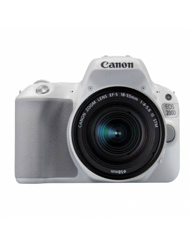 CANON EOS 200D + 18-55mm STM IS white