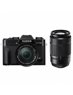 FUJIFILM X-T20 KIT: XC16-50mm + XC50-230mm BLACK