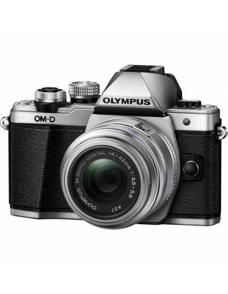 OLYMPUS OM-D E-M10 Mark III +14-42 R Silver