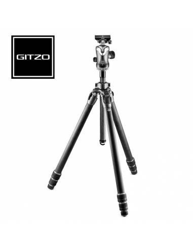 GITZO Kit trípode Monutaineer, serie 3, 3 sec., fibra de carbono (GK3532-82QD)