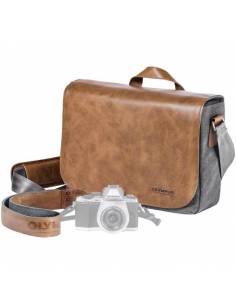 OLYMPUS Kit PRO: Bolsa Messenger + SD16 + Correa piel