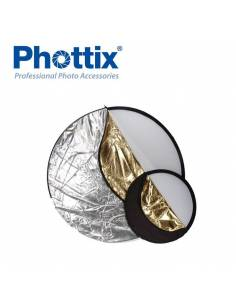 PHOTTIX Reflector 5 en 1 de 80cm PX86510