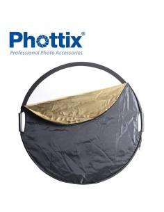 PHOTTIX Reflector Premium 5 en 1 de 107cm PX86497