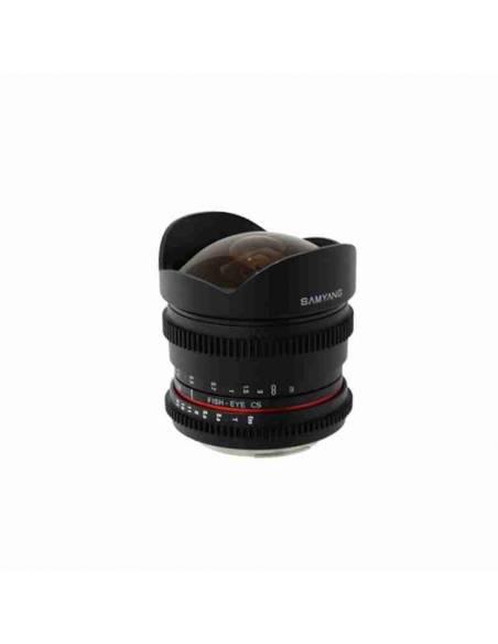 SAMYANG 8mm T3.8 UMC CS II Ojo de Pez V-DSLR (CANON)
