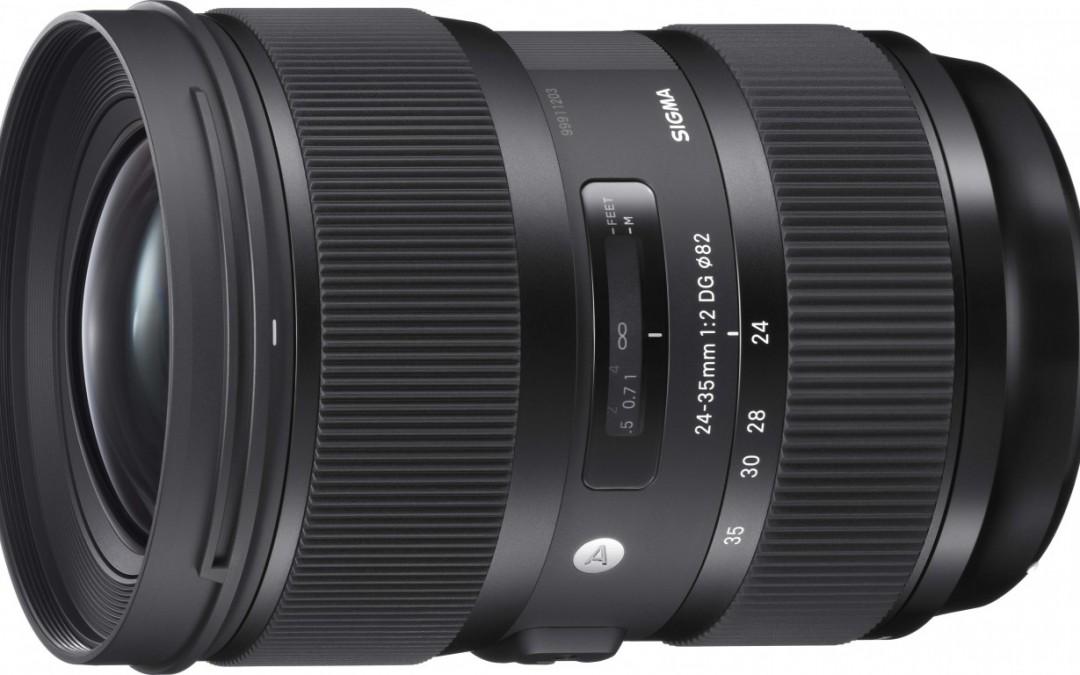 Sigma presenta el 24-35mm F2 DG HSM