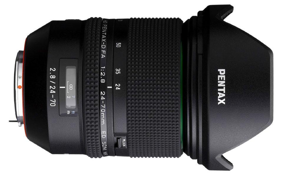 Pentax anuncia un nuevo objetivo zoom de la serie ED