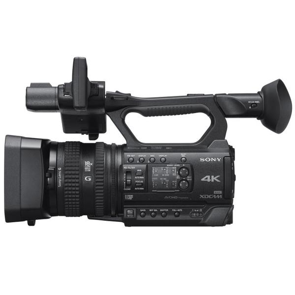 Sony presenta la PXW-Z150, el camcorder de mano compacto ofrece calidad de emisión 4K y Full HD