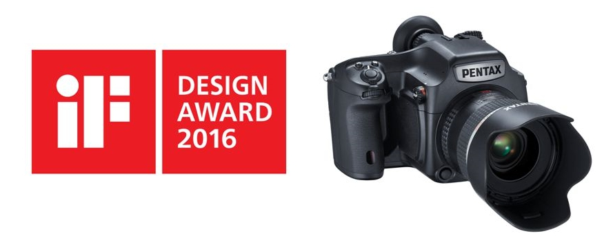 La Pentax 645Z de formato medio digital premiada con el iF Design Awards 2016