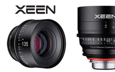Nuevo en la família XEEN: 135mm T2 de Samyang