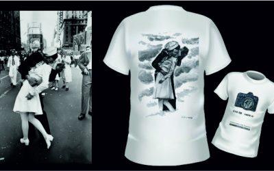 Muere la protagonista del icónico beso del fin de la 2ª guerra mundial e imagen de la camiseta conmemorativa de Foto K