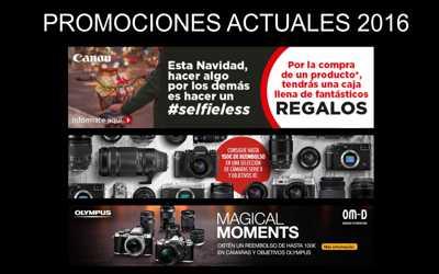 Promociones Actuales de fabricantes