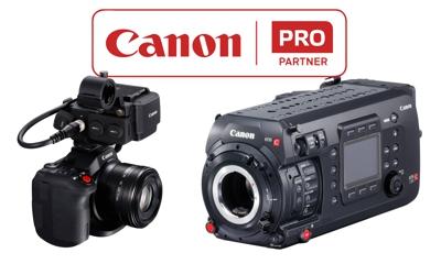 Nuevas actualizaciones de fimware para 7 modelos de Canon PRO
