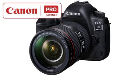 Canon presenta un servicio de actualización de la EOS 5D Mark IV
