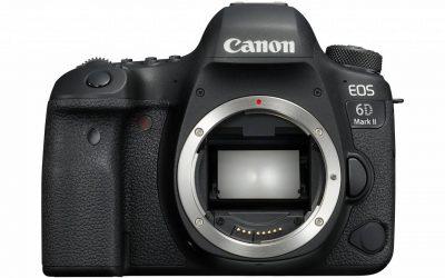 Ya está aquí la Canon EOS 6D Mark II