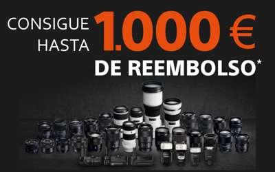 Hasta 1000€ de reembolso y accesorios gratis en SONY