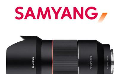 Samyang presenta el 4º objetivo Autofocus para SONY FE