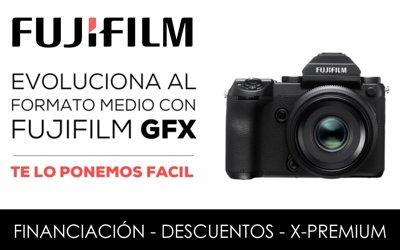 Evoluciona al formato medio con FUJIFILM GFX