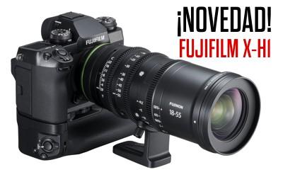 Novedad Fujifilm X-H1