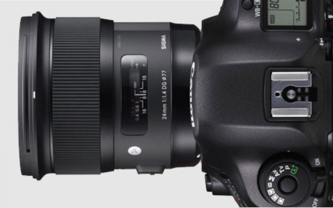 Actualización Firmware SIGMA para Canon EOS
