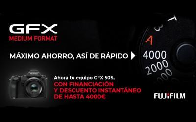 Evoluciona al formato medio con Fujifilm GFX50s