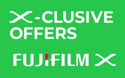 Descuentos de verano de Fujifilm X
