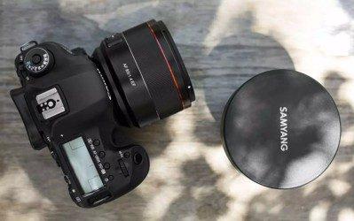Samyang presenta el nuevo AF 85mm F1.4 para EOS