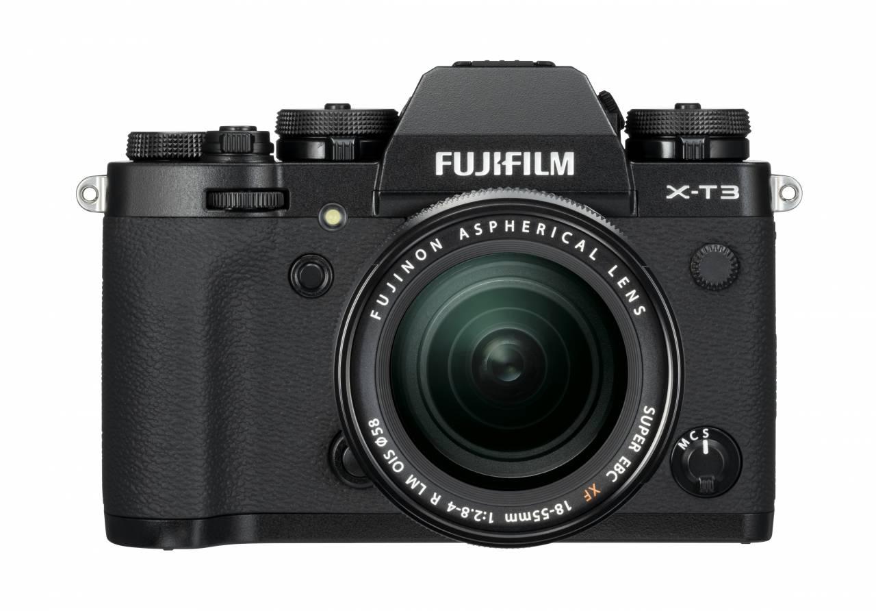 X-T3_Black_Front+XF18-55mm